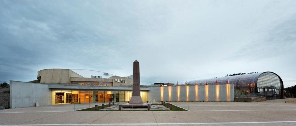 Sainte Marie du Mont vue exterieure musee