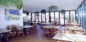 La salle de restaurant du restaurant Le Roosevelt